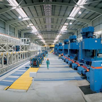 Long product mills