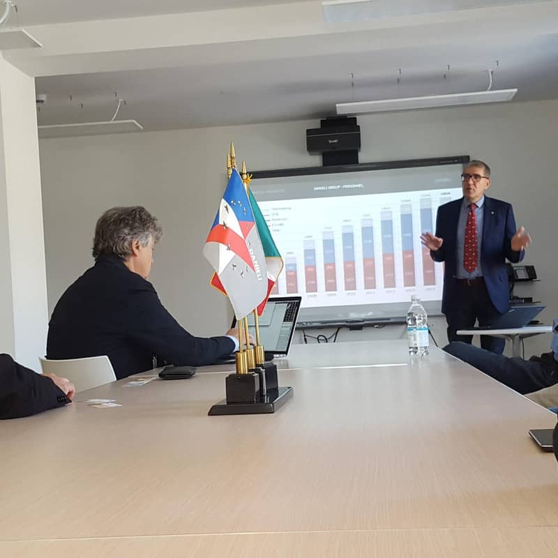 SISSA's visit the Danieli Academy and Research Center