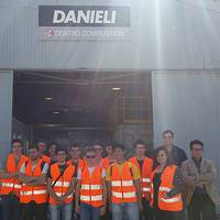 "DANIELI welcomes 15 students from the mechanics section of the ""ITS"" technical high school of La Spezia"
