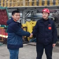 Pinch roll and laying head upgrade at Weifang Special Steel