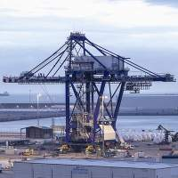 Danieli Grab Ship Unloader for Arcelor Mittal, Belgium