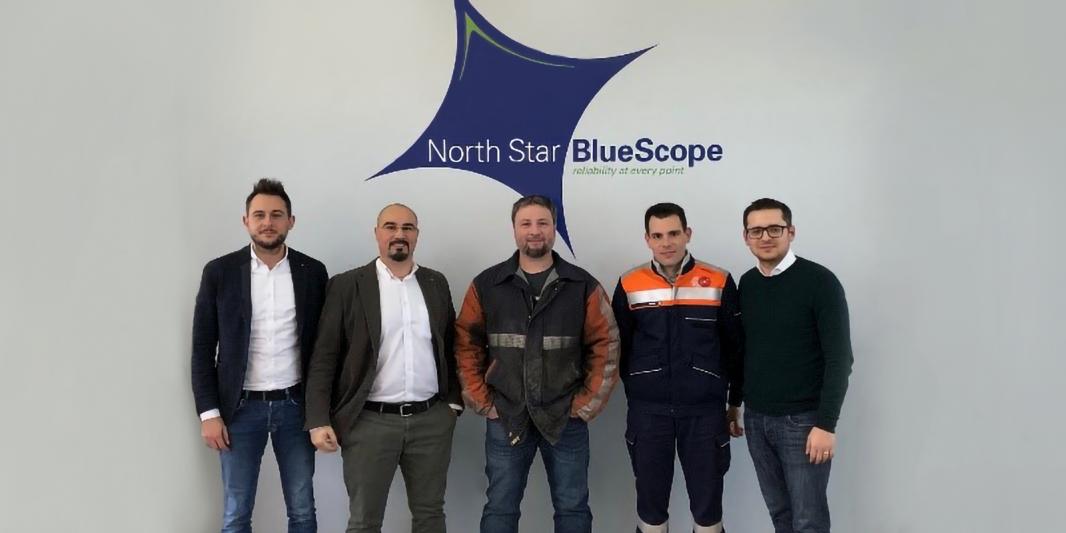 North Star BlueScope Steel relies on Danieli Centro Cranes