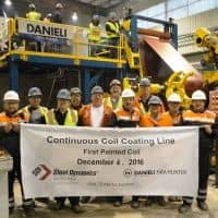 New Danieli Fata Hunter coil coating line in operation in the USA