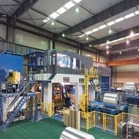 New, high-speed edge-trimming line for aluminium in full production at Henan Zhongfu