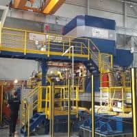 Danieli cold rolling mill and tension leveling line in operation at Eurometal SA Poland
