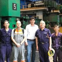 New high-speed rebar mill in operation at Feng Hsin Steel, Taiwan