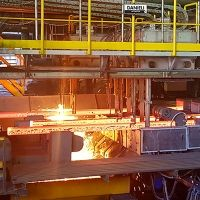 Complete caster revamping at Pacific Steel, Mexico