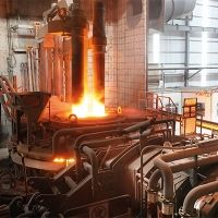 Zero-bucket EAF in operation at Guihang Metal Products