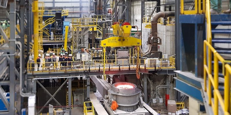 Danieli Endless Casting Rolling MIDA minimill starts operation at Nucor Sedalia