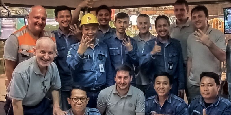 PT Krakatau skin-pass mill reached targets and FAC in 10 days