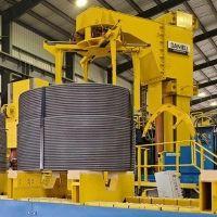 Danieli spooler line in operation at Nucor Steel Sedalia