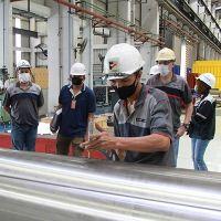 Downcoiler mandrel revamping for GJ Steel hot-strip mill
