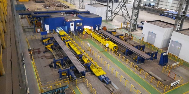 Two specialty steel grinders in operation at Jiangsu Shagang