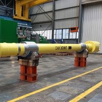 On the way: the new DanJoint giant-slipper-spindle for Hindalco, India