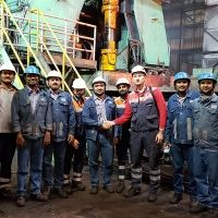 Hot strip mill modernization at JSW Steel Vijayanagar Works, India