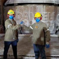 Three Danieli Corus startups in converter steelmaking