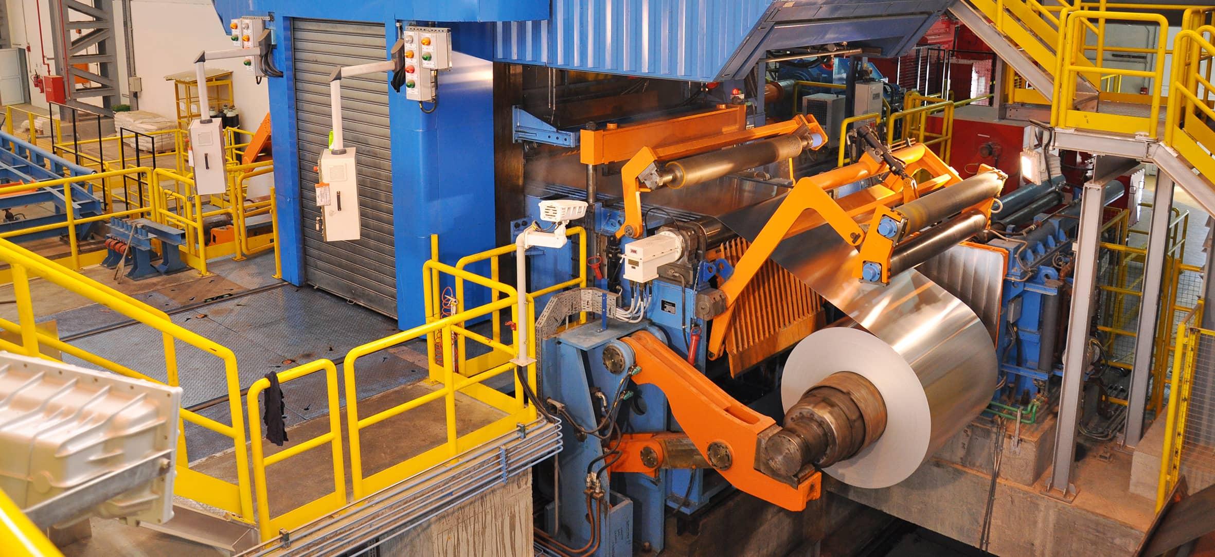 Products › Aluminium and <br />Non-Ferrous Metals › Aluminium Foil Rolling mills ‹ Danieli